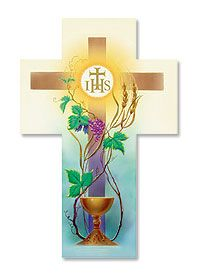 First Communion prayer card.  Beautiful.