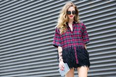 The Best Street Style From New York Fashion Week. Take a look and look street style fabulous.
