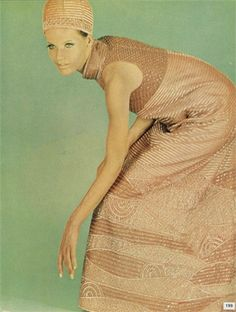 Veruschka, Vogue Italia, September 1967. Photo by Franco Rubartelli.