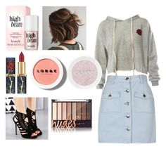 """Untitled #4"" by weronika-kuzniewska on Polyvore featuring Sans Souci, MINKPINK and LORAC"