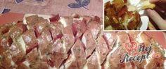 Recept Mřížkovaný chléb plněný sýrem a salámem Party Finger Foods, Party Snacks, Party Tops, Partys, Naan, Food And Drink, Cooking Recipes, Mint, Delicious Snacks