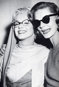 d638a87059b Old Hollywood Glamour Eyewear♥ Marilyn Monroe   Lauren Bacall From