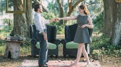 quirky engagement shoot.