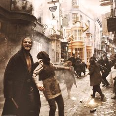 Unrest at Diagon Alley
