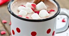 The Best Crock Pot Hot Chocolate Recipe- I love having this ready for the kids after a cold day at school!