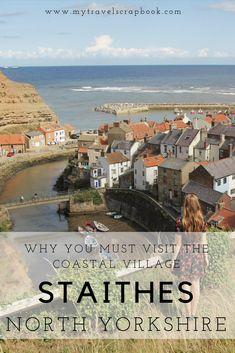 The Sleepy Coastal Village of Staithes Yorkshire England, Yorkshire Dales, North Yorkshire, Visit Yorkshire, Cornwall England, England Uk, London England, British Travel, Travel Uk