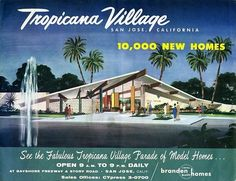 Tropicana Village Brochure Cover c1958 | Flickr - Photo Sharing!