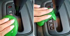 She Makes Play-Doh And Scrubs Her Car. The Results? I'm Totally Doing This Too!