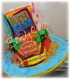 Teen Movie Cake