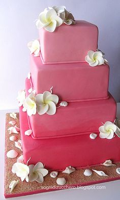 Idea for my cake, only it will have more color and lots of colorful flowers