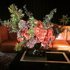 strikes again. (at Ken Fulk Inc. Ken Fulk, Peep Show, Strikes Again, Flower Vases, Floral Wreath, Bouquet, Christmas Tree, Wreaths, Holiday Decor
