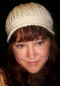 Cable Hat:  Free Crochet Pattern.  F Hook Stitches Used:Chain…ChSingle Crochet…SCHalf Double Crochet…HDCFront Post Double Crochet..FPDCReverse Single Crochet…RSCSlip Stitch…SlSt