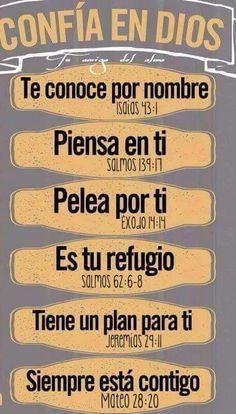 Confía en Dios! Más