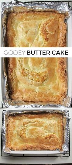 4 Eggs. 1 (18.25-ounce package Cake mix, yellow. 4 cups Powdered sugar. 2 tsp Vanilla extract. 1/2 cup Butter. 1 (8-ounce package Cream cheese.