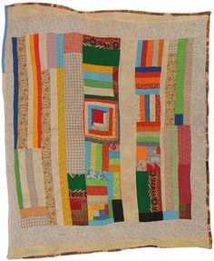 gorgeous gees bend quilt. I love the gees bend quilts. Such talent those ladies had, and with so little means.