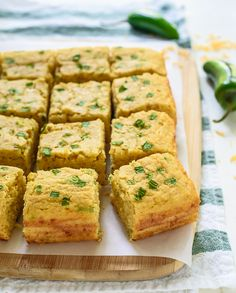 Ultra moist and cheesy Jalapeño Cornbread that melts in your mouth! Less than 10 minutes to prep, this healthy cornbread is perfect for chili, BBQ and more!