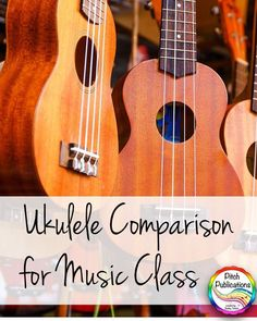 This is an AMAZING post about ukuleles in the elementary music classroom!  Love the review and information.  #ukulele #pitchpublications #rainbowukulele #elmused