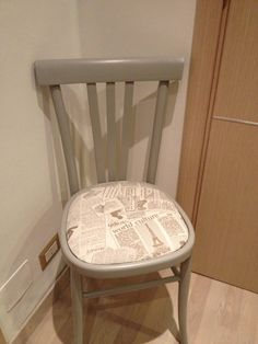 How to renew an old chair