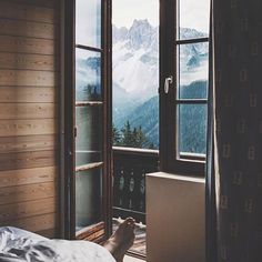 Wake up to this view