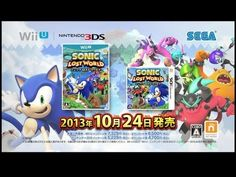 Soniccu Lostawooorldoh TGS Trailer -  With Sonic Lost World only being a month away from release, Sega has begun pretty much showing anything in their trailers. So only watch the trailer above if you don't mind spoilers, same counts for this trailer showing all of the bosses we forgot to report on last week.  http://www.sonicretro.org/2013/09/soniccu-lostawooorldoh-tgs-trailer/