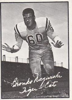 Bronko Nagurski Jr. - 1961 Topps CFL #53 Football Trading Cards, Football Cards, Baseball Cards, Canadian Football League, Grey Cup, Football Hall Of Fame, Cat Memorial, Vintage Football, Trading Card Database