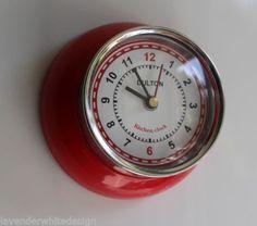 Magnetic Kitchen Clock.