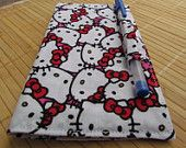 Hello Kitty checkbook cover on etsy.com