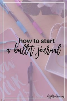 How to start a Bullet Journal (and some spread ideas) #ad #pilotyourlife // Hey…