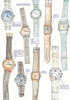 watches   #illustration