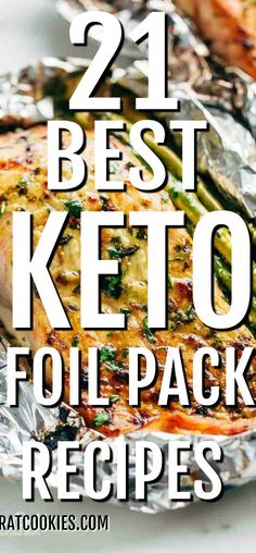 21 Best Keto Foil Pack Recipes Eating healthy and low carb does not necessarily mean that it has to be hard or bland. Change a little with these healthy ideas. 21 best recipes from Keto Foil Pack diet, good health recipes, Tin Foil Dinners, Foil Packet Dinners, Foil Pack Meals, Foil Packets, Camping Food Make Ahead, Camping Menu, Healthy Eating Recipes, Low Carb Recipes, Campfire Food
