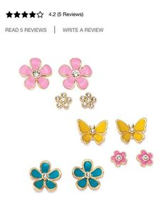 5 pairs of #avon #earrings #wishyouhadanavonlady find them on my website www.youravon.com/niccitorrente #gifts