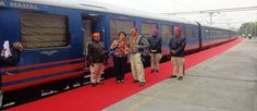 Royal Rajasthan on Wheels - Luxury train tour trough Rajasthan, Varanasi and Khajuraho Train Tour, New Journey, Varanasi, Train Travel, India Travel, Luxury Travel, Tours, Indian, Explore