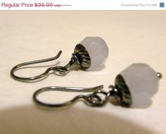 On Sale Frost      Opaque Faceted Amethyst by ScorpionMoonDesigns, $29.75