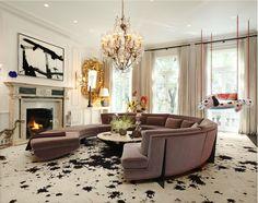 Splattered Living Room #2  Mimosa Lane: Interiors || William Georgis