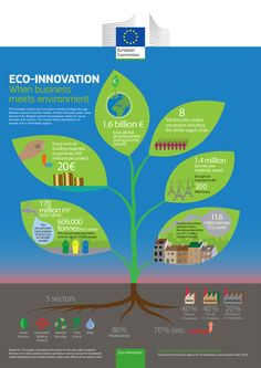 Eco #innovation: when business meets the environment  (#infographic)