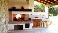 Caminetti Tradizionali su Misura | Gover sr Fireplace Hearth, Open Fires, Chula, Patio, Tiny House, Outdoor Living, Sweet Home, Design, Stoves