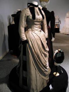 Adventures of a Costumer: Silk Faille Dress c1887-89