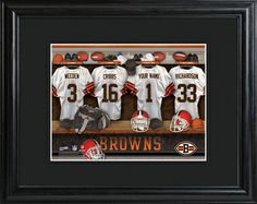 Cleveland Browns Locker Room Photos