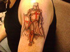 (Crusader - p.mc.n.) Knights Templar | Djnemo Knights Templar Tattoo