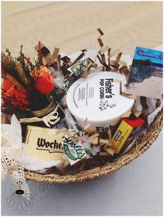 wedding gifts for guests traveling from out of town. ocean city, md gift baskets for in their hotel rooms before arrival. Ocean City, Geometric Patterns, Wedding Welcome Baskets, Wedding Gifts For Guests, Gift Baskets, Wedding Planning, Traveling, Rooms, Gift Ideas