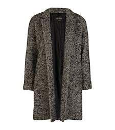 Grey herringbone boyfriend coat £35.00