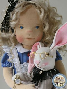 Alice in Wonderland doll by Lalinda.pl