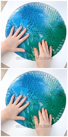 water beads Here is a fun and easy sensory bag for kids. It is themed for Earth day and includes water beads for a fun sensory play experience. Fun for baby play, toddlers, preschool and for kids. Kids Activities At Home, Sensory Activities Toddlers, Educational Toys For Toddlers, Infant Activities, Crafts For Kids, Motor Activities, Kids Diy, Sensory Games, Baby Sensory Play