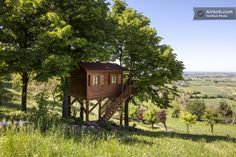Tiny Treehouse Cabin in Italy You Can Stay In---this is IT dream home #3 im in love ... Awe complete ... Wow perfect house