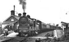 departing Glenavy for Antrim May 1959 Old Steam Train, Disused Stations, British Rail, Steam Engine, Great British, Diesel Engine, Northern Ireland, Locomotive, Trains