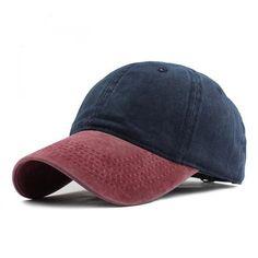 f57f19a3147f3 Mixed Colors Washed Denim Snapback Unisex Baseball Caps