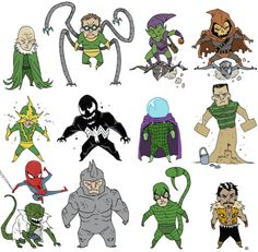 Rogues gallery of Spider-Man villains