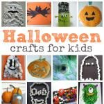 Halloween Ghost Crafts  - No Time For Flash Cards