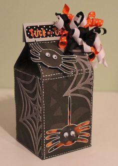 Halloween Milk carton  Cindy Beland