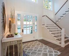 Larger entry rug for front door